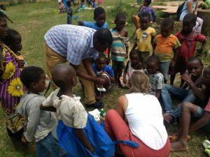 Durante el voluntariado, también se visitaba a niños/as de la calle