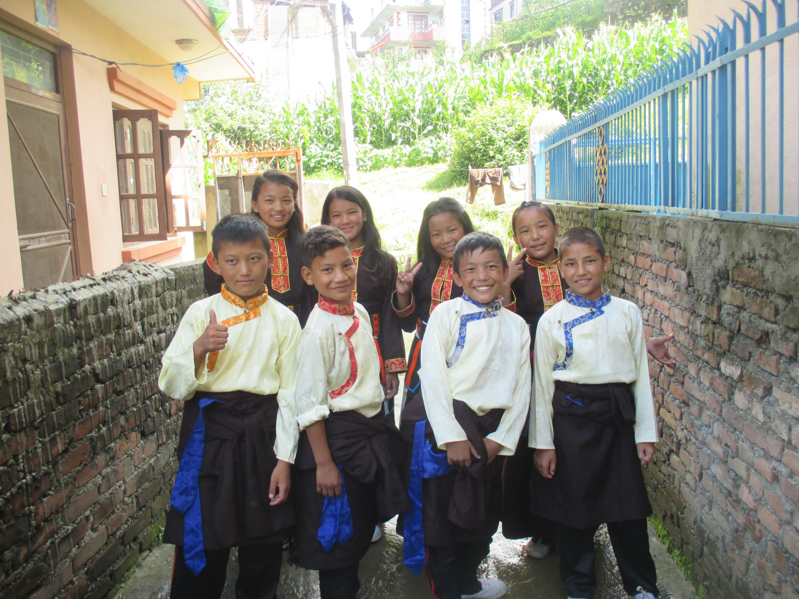 Peques proyecto Nepal