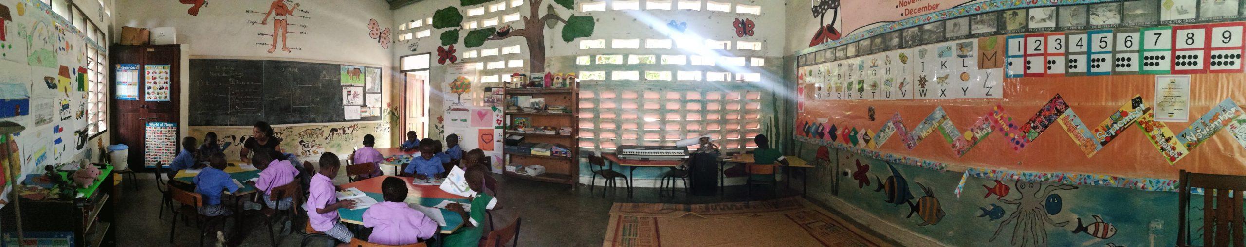 Escuela voluntariado Mombasa