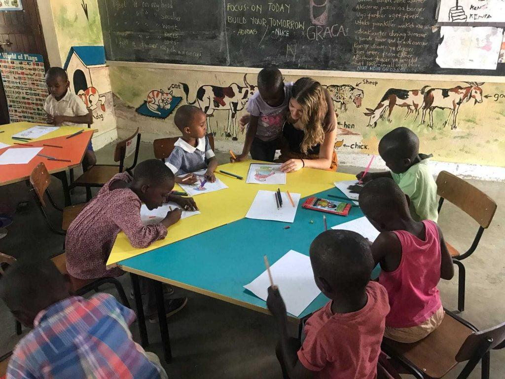 Apoyo educativo ONG Mombasa, Kenia