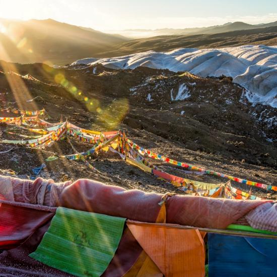 Tibet, taller solidario